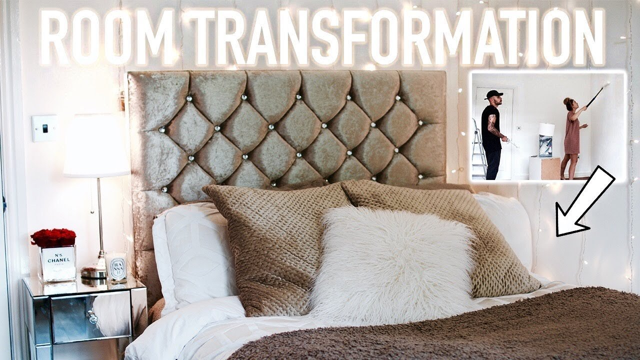 Best Insane Room Transformation Room Tour Small Bedroom Hannah Renée Youtube With Pictures