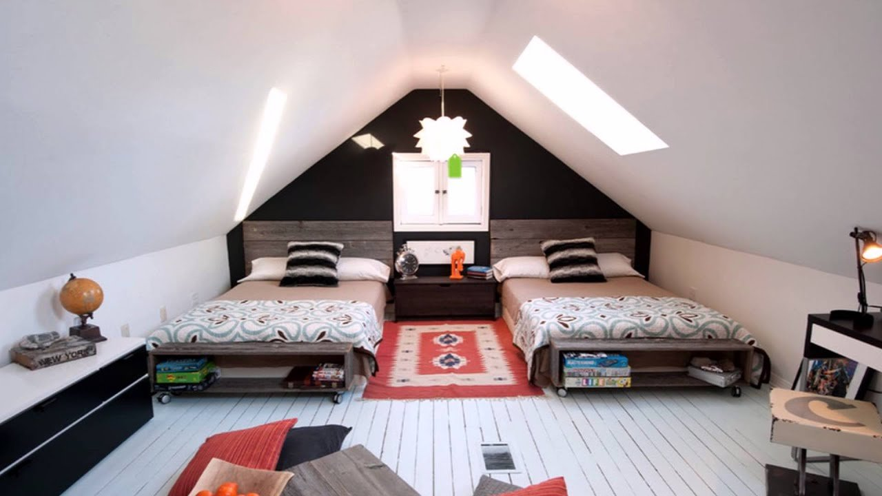 Best Attic Bedroom Design Ideas Youtube With Pictures