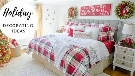 Best Christmas Bedroom Decorating Ideas 2017 Holiday With Pictures