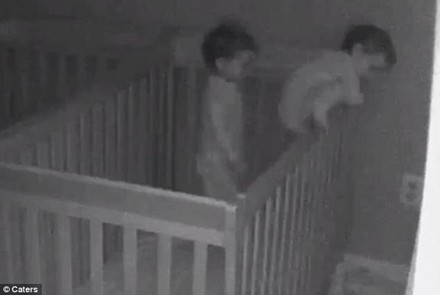 Best Moment New Jersey Twins Escape From Their Separate Cribs With Pictures