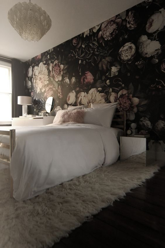 Best 20 Super Trendy Moody Floral Wallpaper Ideas Shelterness With Pictures