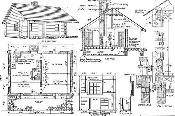 Best Log Home Plans 40 Totally Free Diy Log Cabin Floor Plans With Pictures