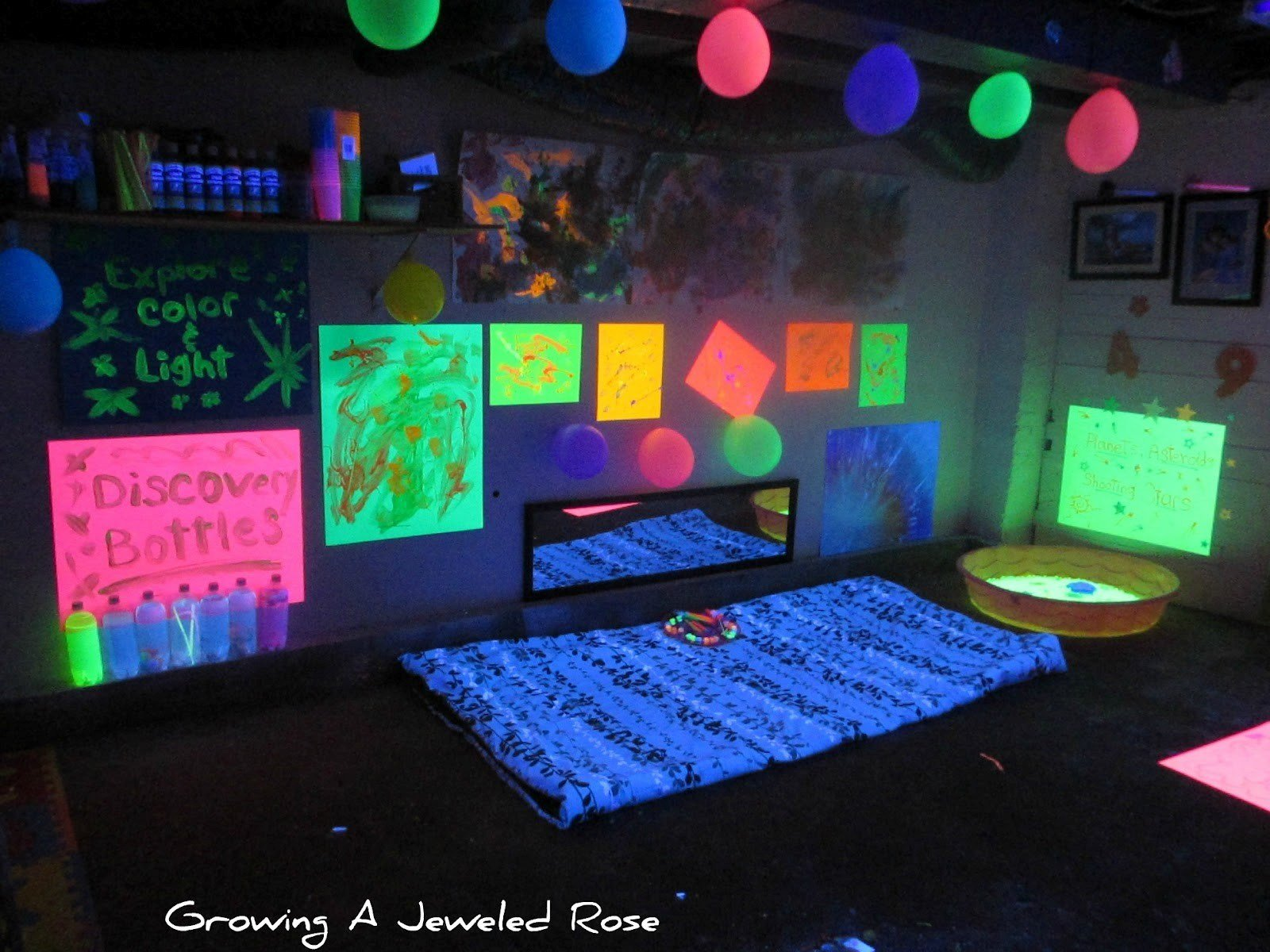 Best Cool Black Light Party Ideas Layout Home Ideas Gallery With Pictures