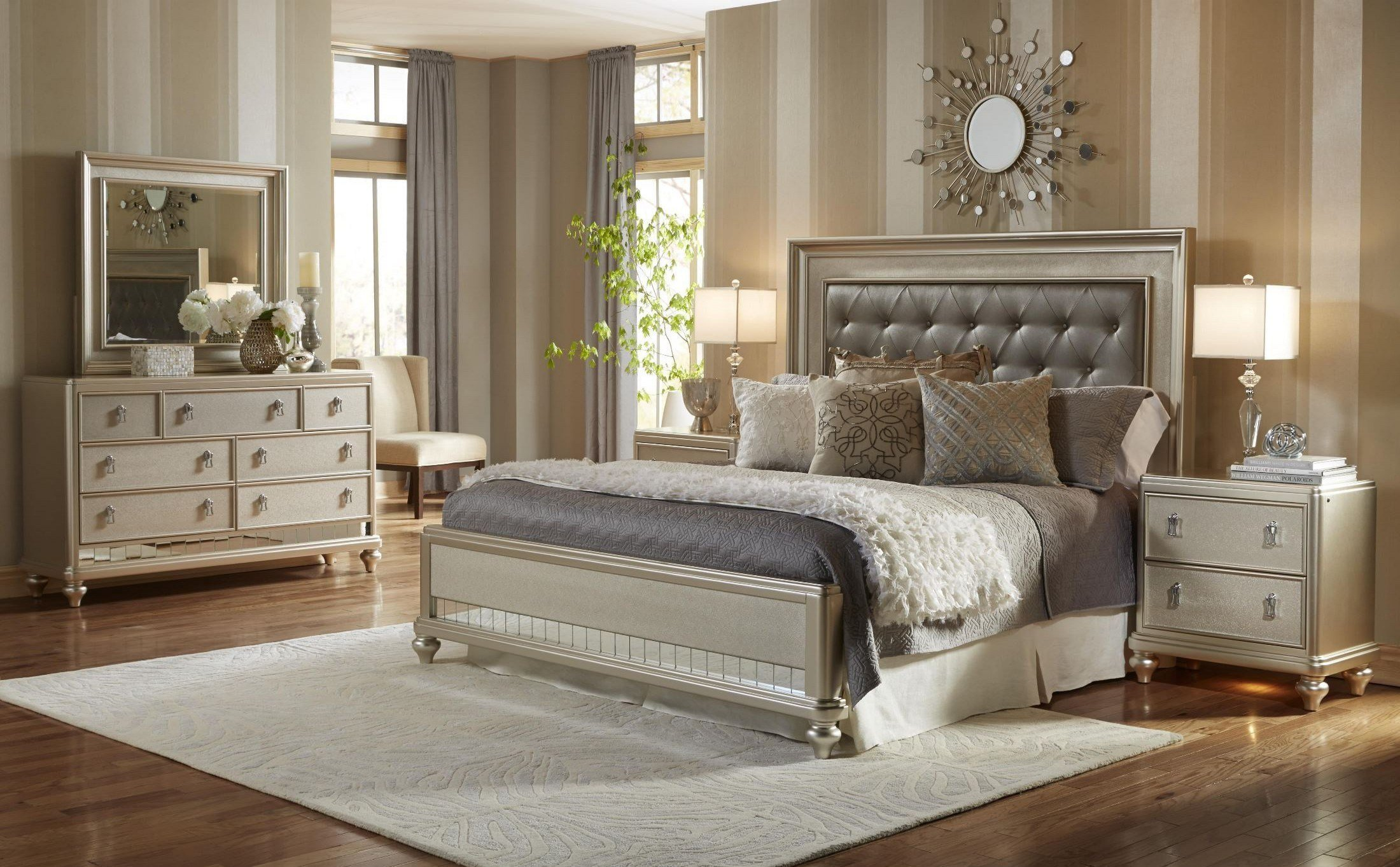 Best Diva Panel Bedroom Set From Samuel Lawrence 8808 255 257 With Pictures