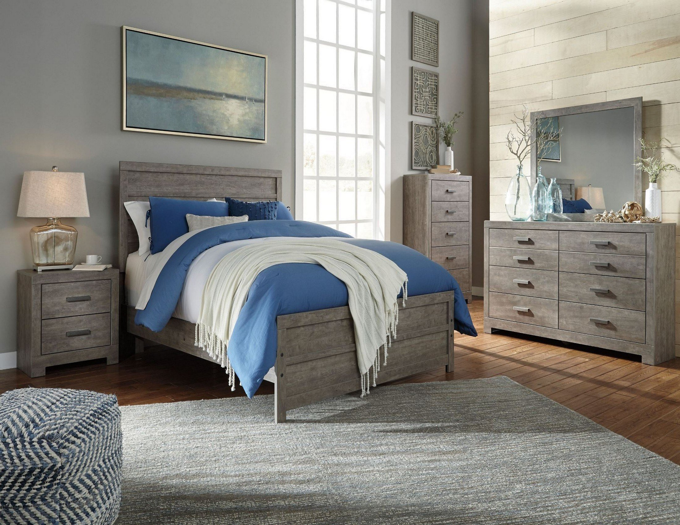 Best Culverbach Panel Bedroom Set From Ashley Coleman Furniture With Pictures