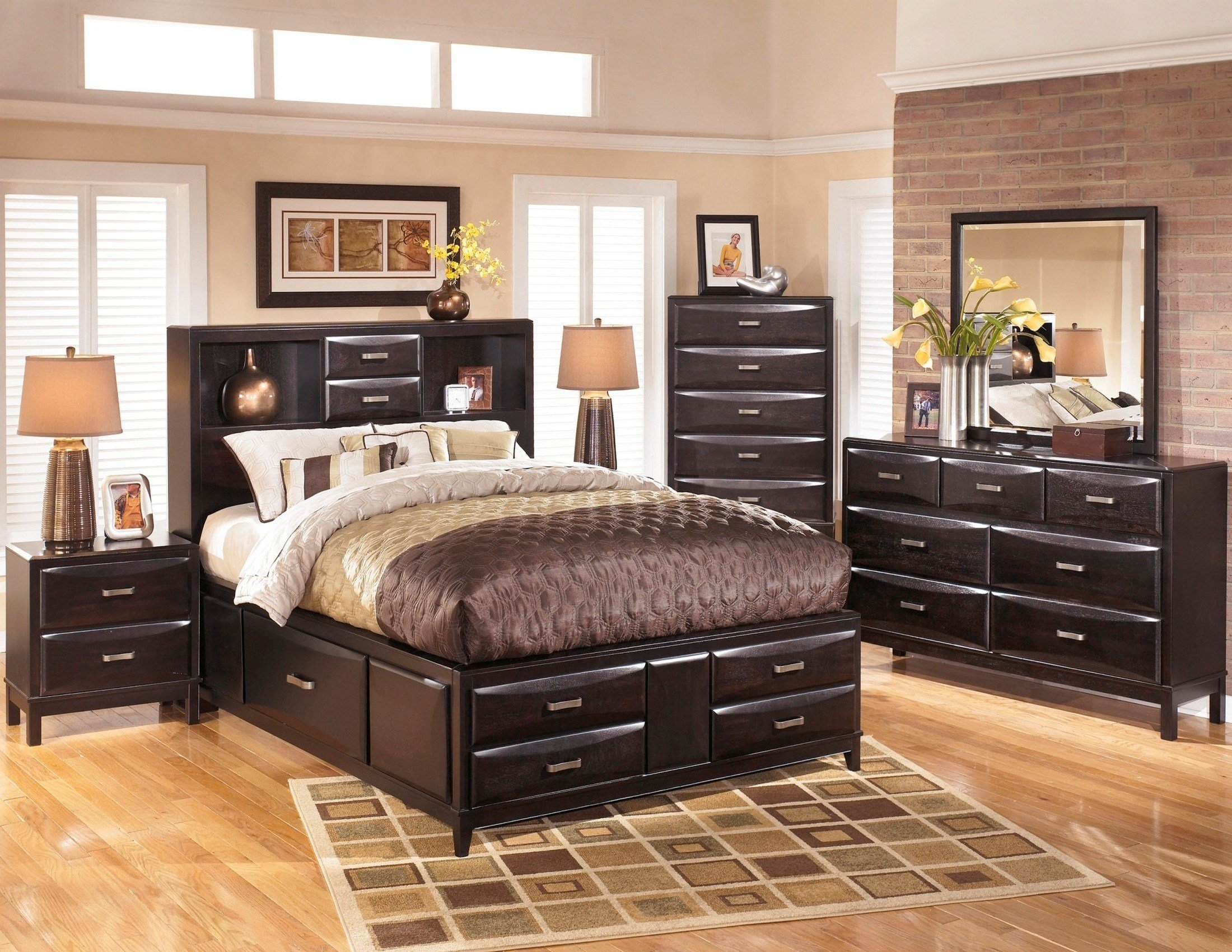 Best Kira Storage Platform Bedroom Set From Ashley B473 64 65 With Pictures