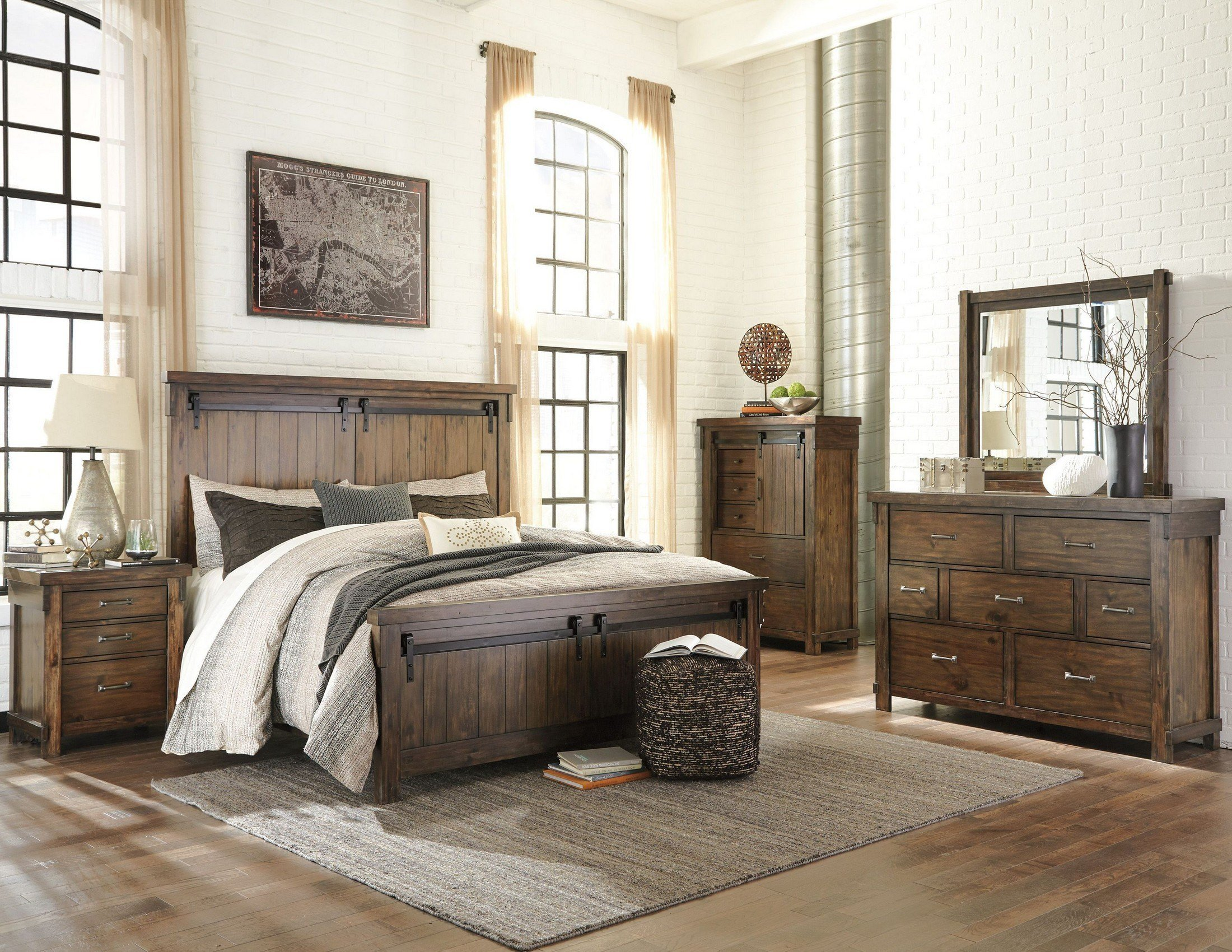 Best Lakeleigh Brown Panel Bedroom Set From Ashley Coleman With Pictures