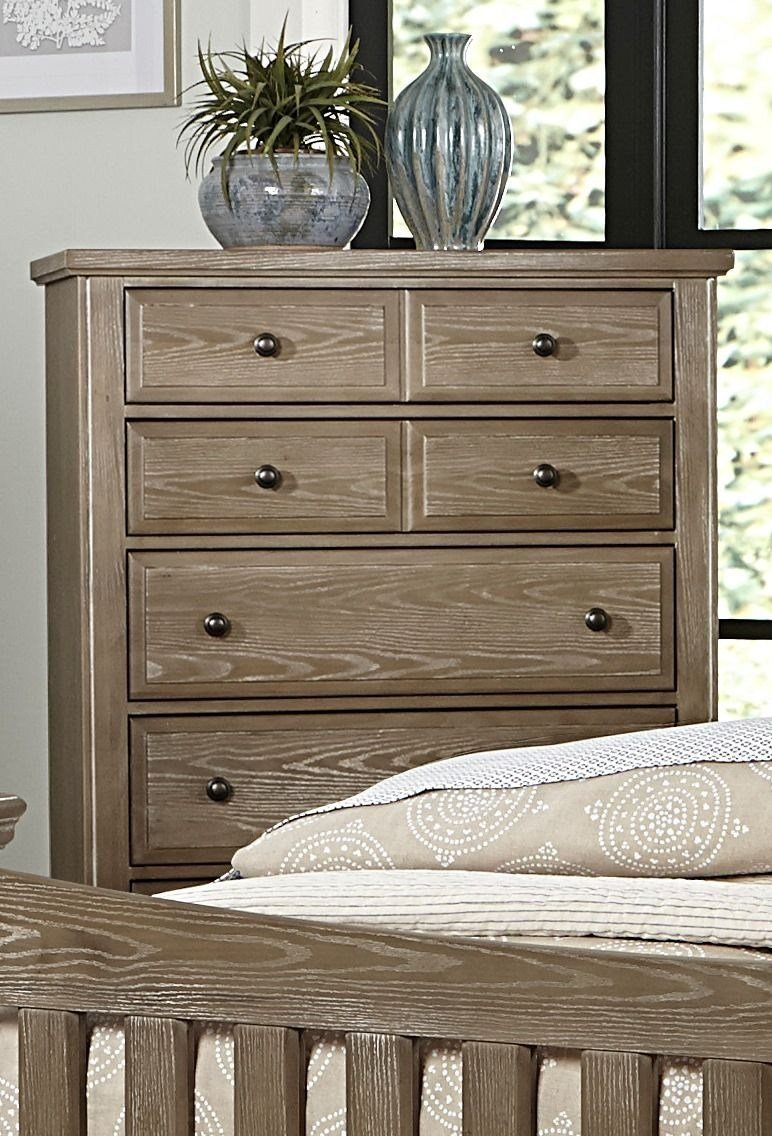 Best Bedford Washed Oak Poster Bedroom Set From Virginia House With Pictures