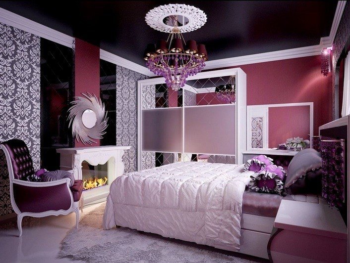 Best Purple Vintage Bedroom With Grey Bedding Sets Decolover Net With Pictures