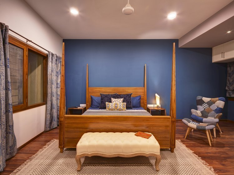 Best 6 Unique Bedroom Wall Paint Colours That Work For Indian Homes With Pictures