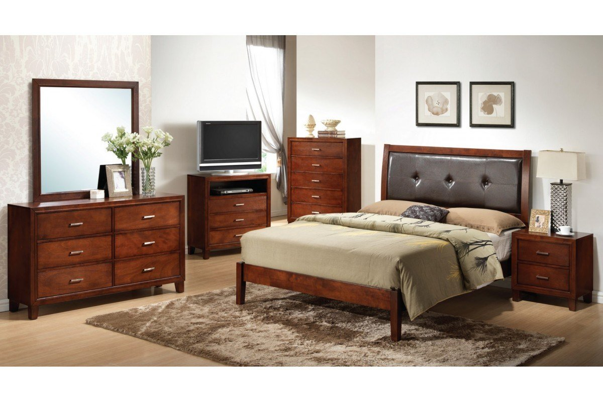 Best Bedroom Sets Jett Brown Full Size Bedroom Set With Pictures