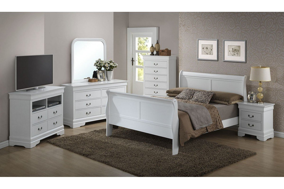 Best Bedroom Sets Dawson White Full Size Bedroom Set With Pictures