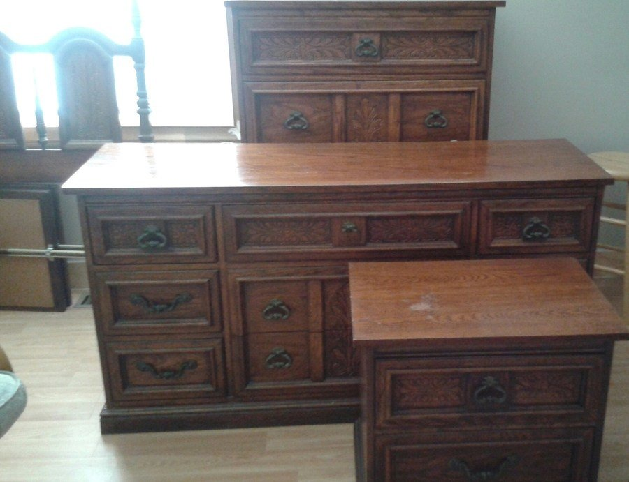 Best 4 Piece Dixie Bedroom Set My Antique Furniture Collection With Pictures