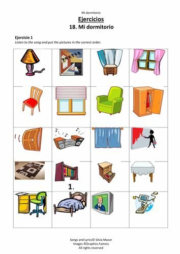 Best Mi Dormitorio Song Teaching Items In A Child S Bedroom In With Pictures