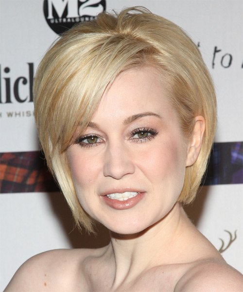 Free Kellie Pickler Formal Short Straight Layered Bob Hairstyle Wallpaper