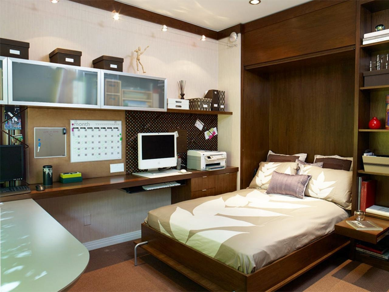 Best Optimize Your Small Bedroom Design Hgtv With Pictures