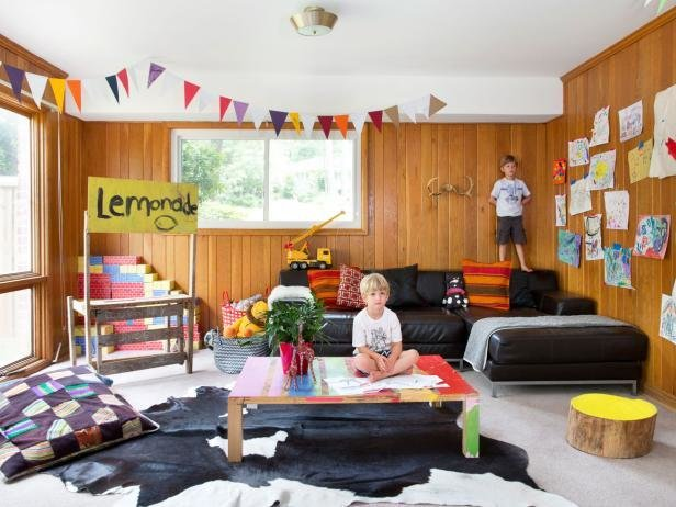 Best Game Room Basement Kid Friendly Basement Game Room Hgtv With Pictures