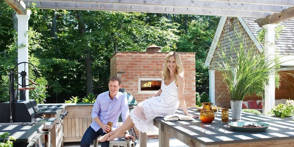 Best Bobby Flay Stephanie March Hamptons House With Pictures