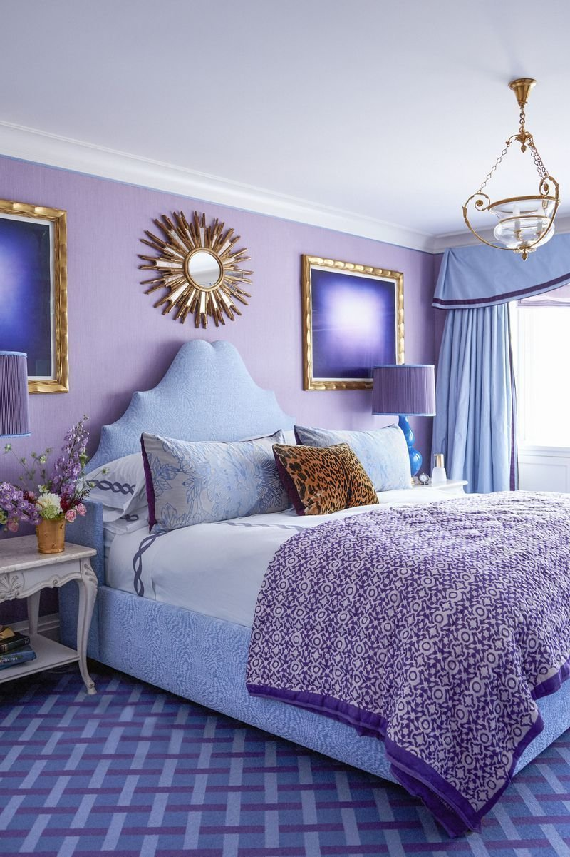 Best 25 Purple Room Decorating Ideas How To Use Purple Walls With Pictures