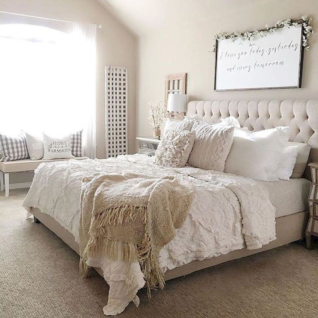 Best 45 Awesome Rustic Farmhouse Bedroom Decoration Ideas With Pictures