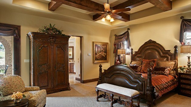 Best 15 Extravagantly Beautiful Tuscan Style Bedrooms Home With Pictures