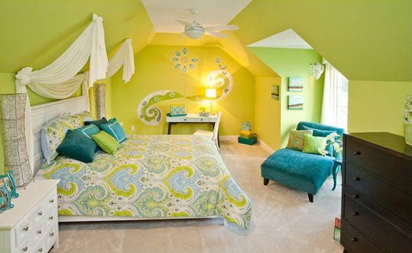 Best 15 Refreshing Bedrooms In Yellow And Green Colors Home With Pictures