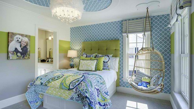 Best 15 Stunning Bedrooms With Swing Chairs Home Design Lover With Pictures
