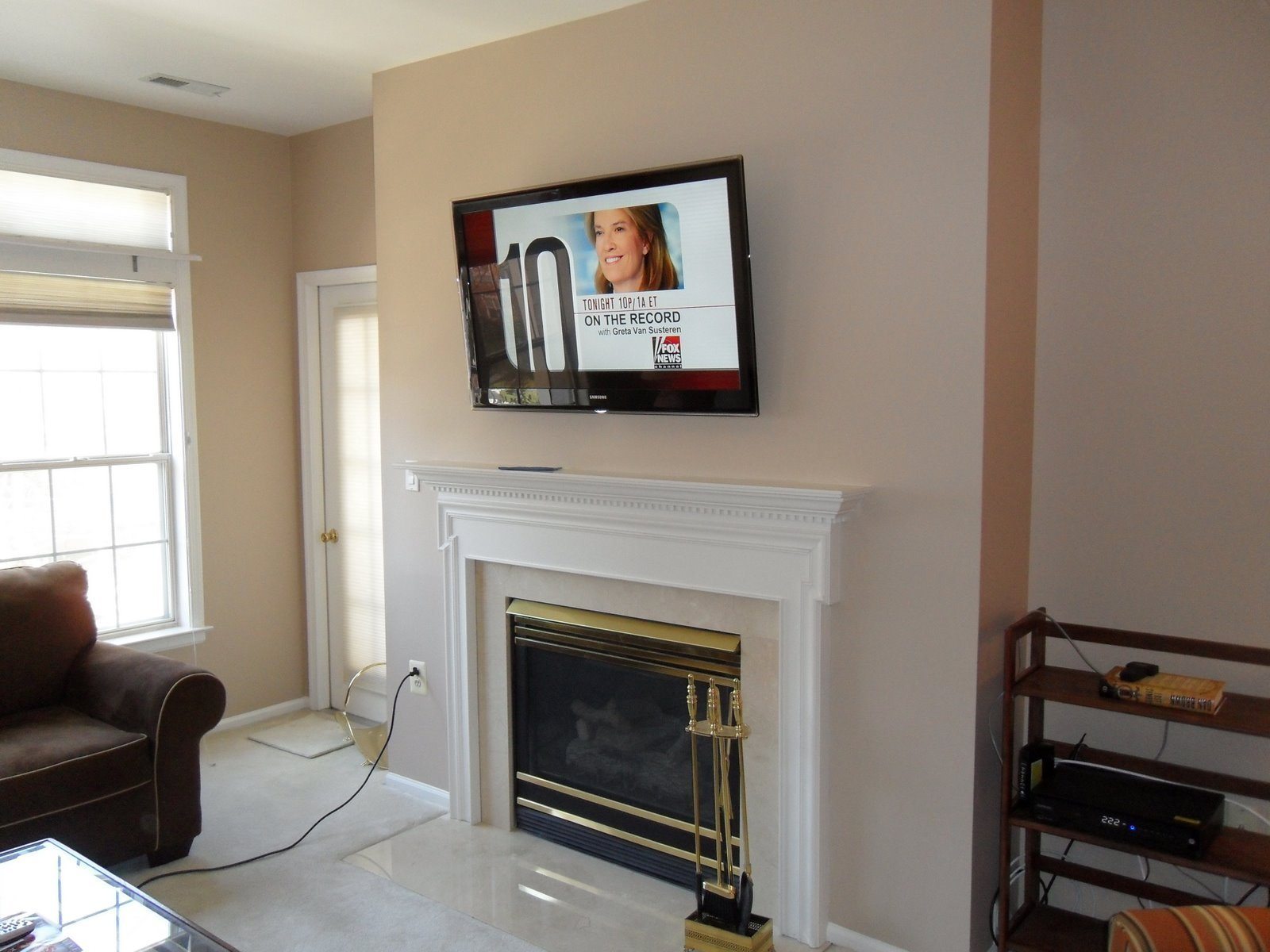 Best Living Room Fireplace Tv Wall Mounting Installation 2 With Pictures