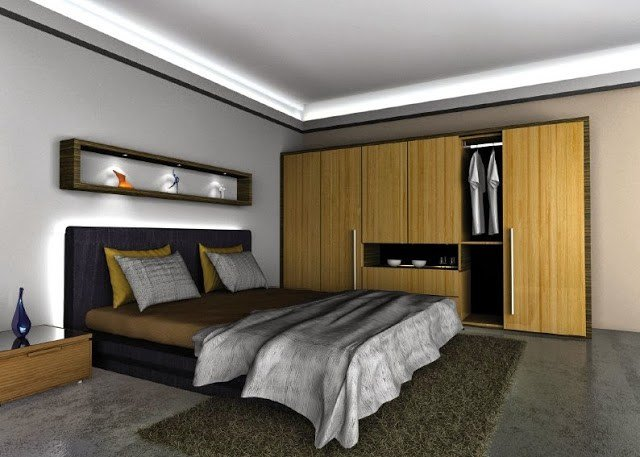 Best Get The Latest Led Str*P Lighting Ideas For Your Bedroom Athenadecoatingideas With Pictures