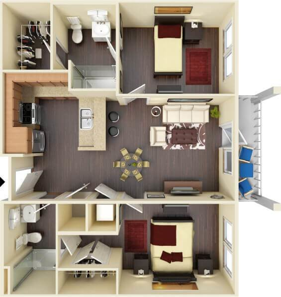 Best Highland Square Ole Miss Luxury Student Apartments In With Pictures