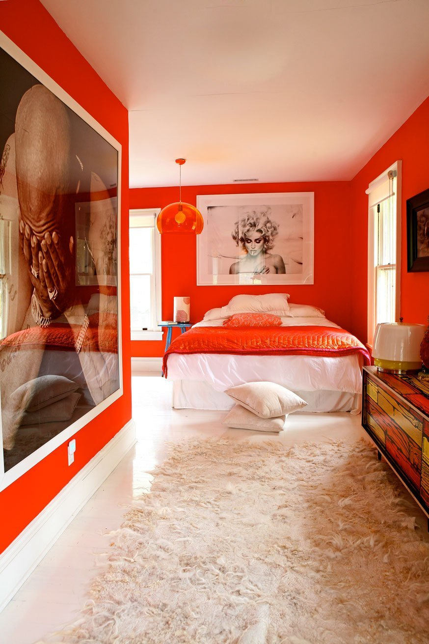 Best A Bright Orange Bedroom… – The Painters Place With Pictures