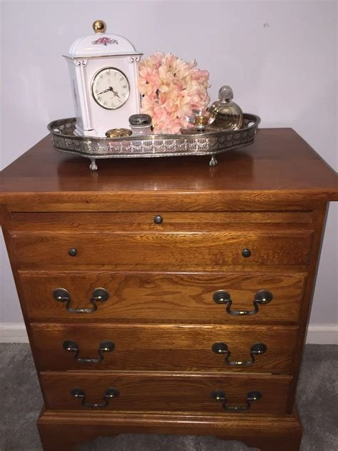 Best Find More Bedside Chest • Keller Furniture • Chestnut Creek Collection • 4 Drawer And A Pull Out With Pictures