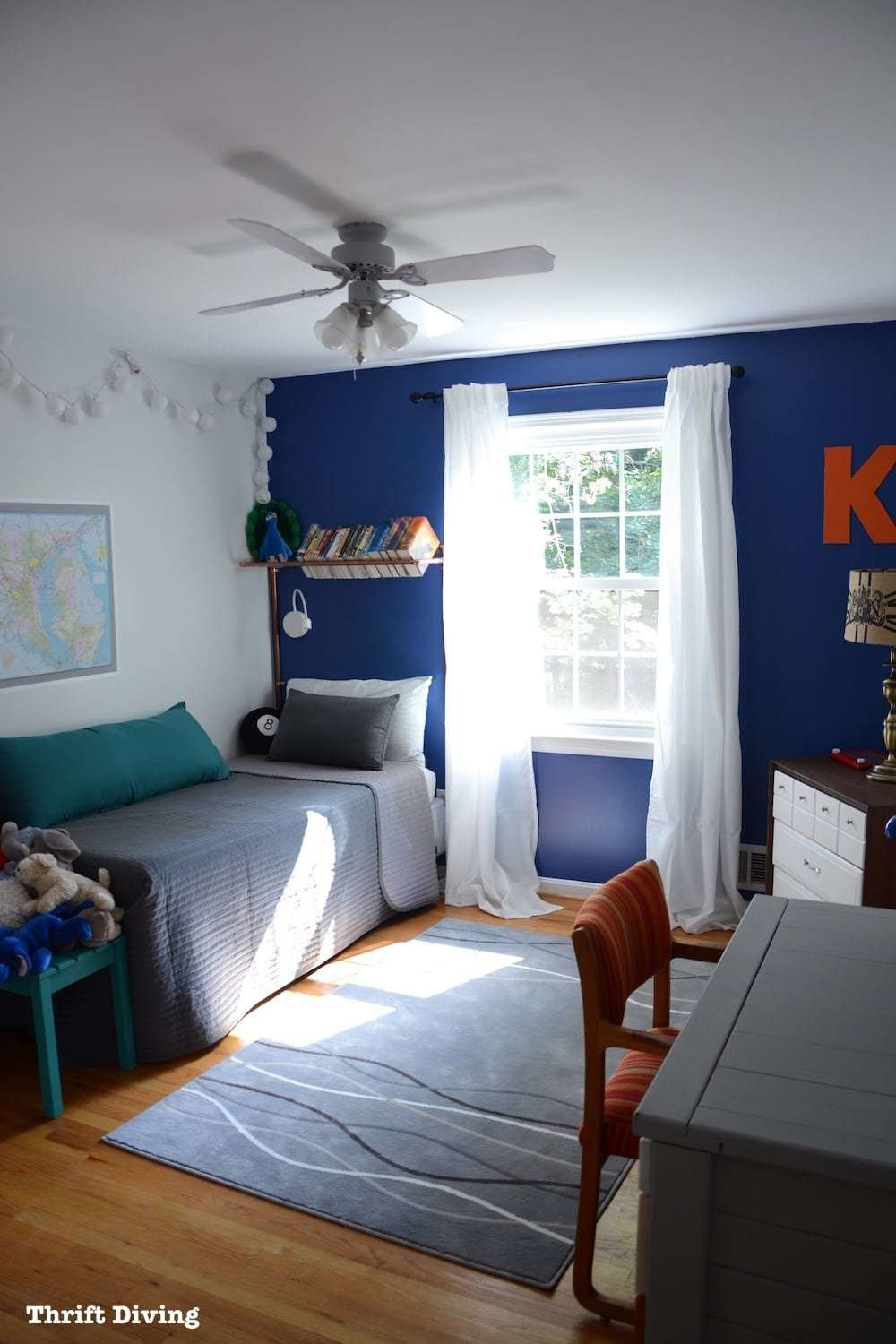 Best Before After Tween Boys Bedroom Makeover Reveal With Pictures