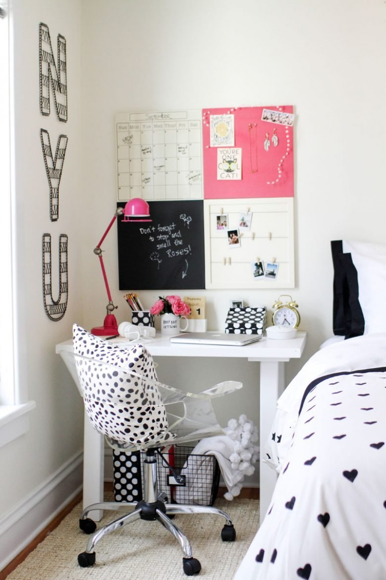 Best Styling Ideas For T**N Girls Desks The Organised Housewife With Pictures