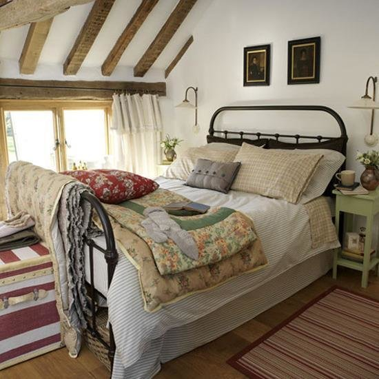 Best How To Achieve A Country Style Bedroom Thehomebarn Ie With Pictures