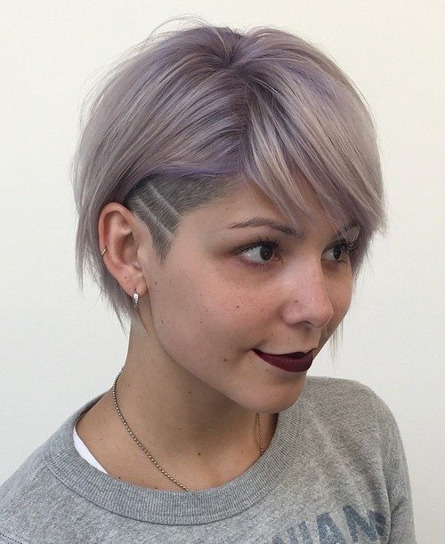 Free 50 Women's Undercut Hairstyles To Make A Real Statement Wallpaper