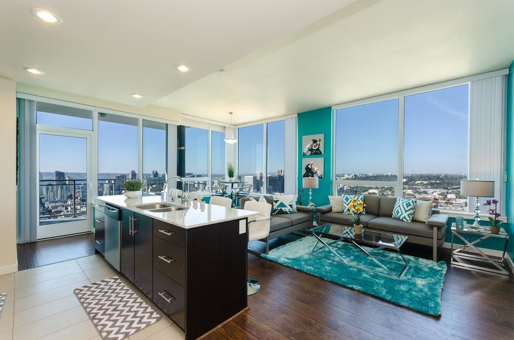 Best Apartment Downtown San Diego Modern 3 Bedroom Ca Booking Com With Pictures Original 1024 x 768