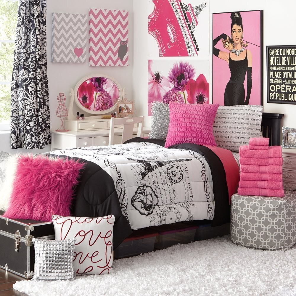 Best Create Paris Bedroom Decor For Girls With Chic Style With Pictures