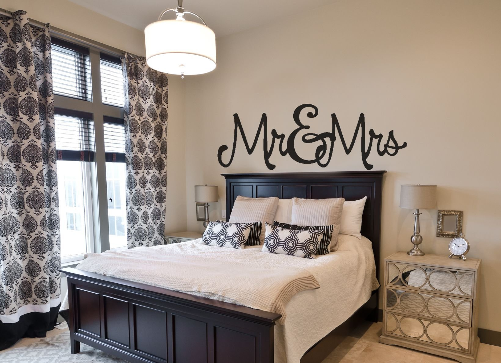 Best Bedroom Wall Decal Mr Mrs With Pictures