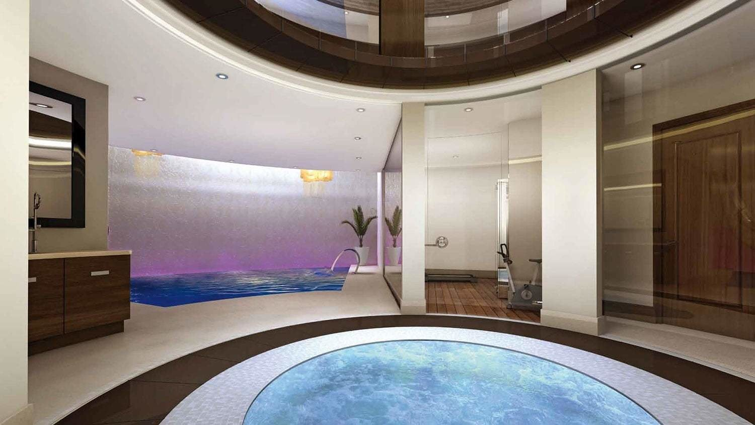 Best Slide From Bedroom To Subterranean Pool In This Posh Underground Mansion The Manual The Manual With Pictures