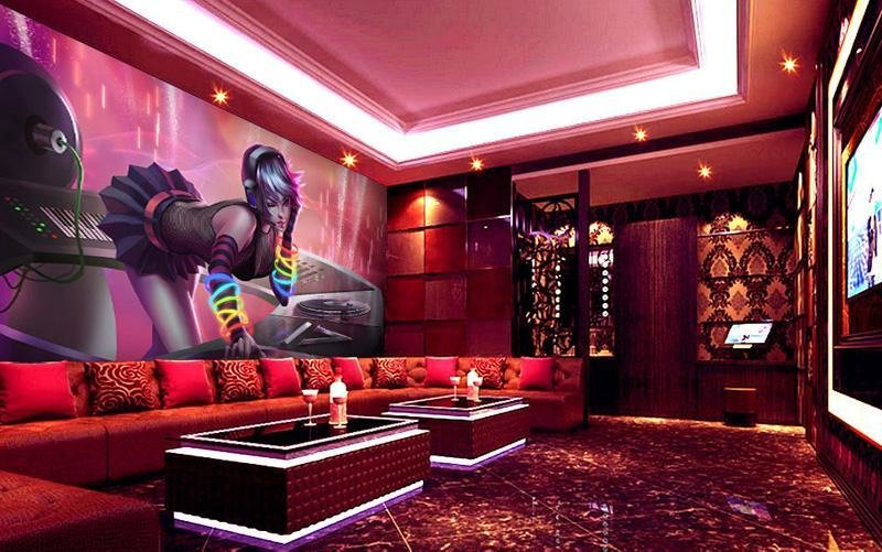 Best S*Xy Dj Girl Wallpaper Custom 3D Photo Wallpaper Night With Pictures