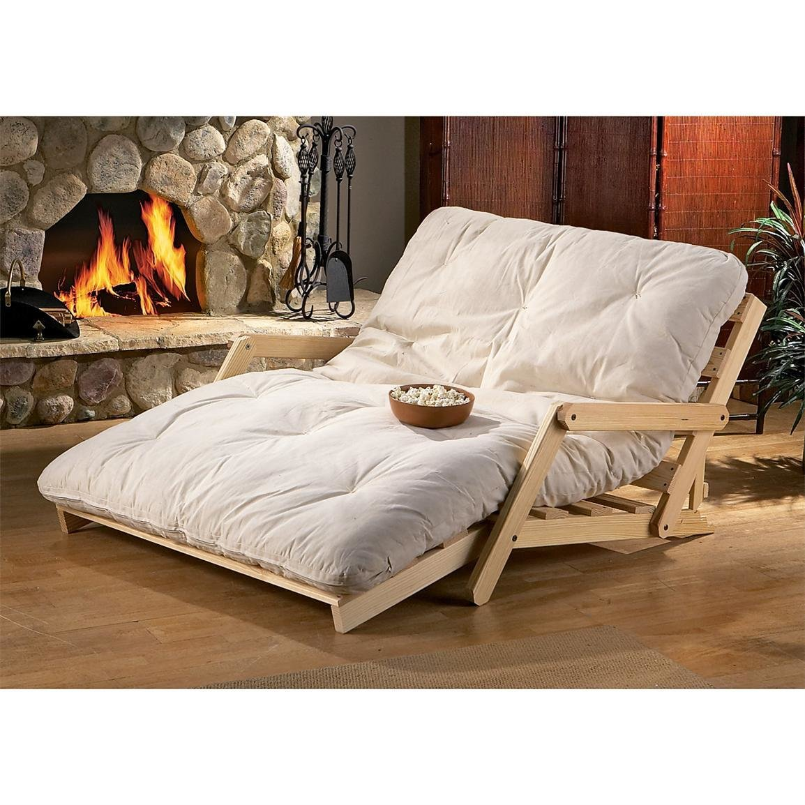 Best Trifecta Lounger Natural 32174 Living Room Furniture With Pictures