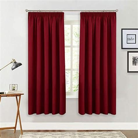 Best Red Bedroom Curtains Amazon Co Uk With Pictures