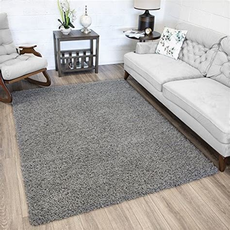 Best Amazon Com Ottomanson Soft Cozy Color Solid Sh*G Area Rug With Pictures