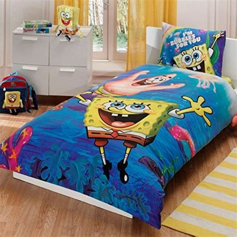 Best Spongebob Comforter Set Amazon Com With Pictures