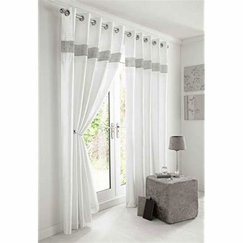 Best White Bedroom Curtains Amazon Co Uk With Pictures