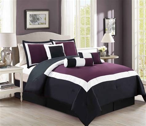 Best Purple And Black Bedding Sets – Ease Bedding With Style With Pictures