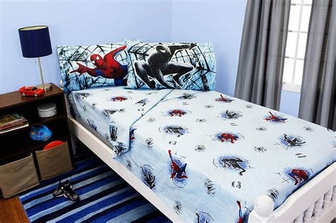 Best Spiderman 3 Double Trouble Full Size Bedding Sheet Set Ebay With Pictures