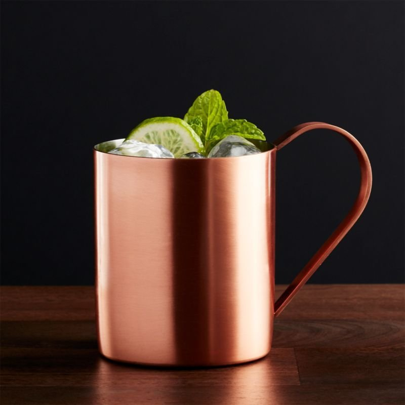 Best Moscow Mule Copper Mug Crate And Barrel With Pictures