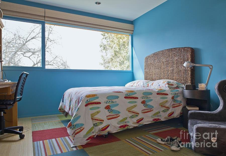 Best Surf Themed Bedroom Photograph By Inti St Clair With Pictures